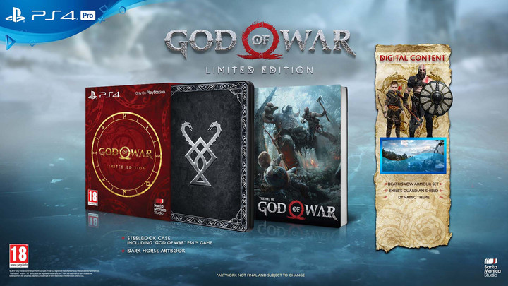 God of War - Limited Edition (PS4)
