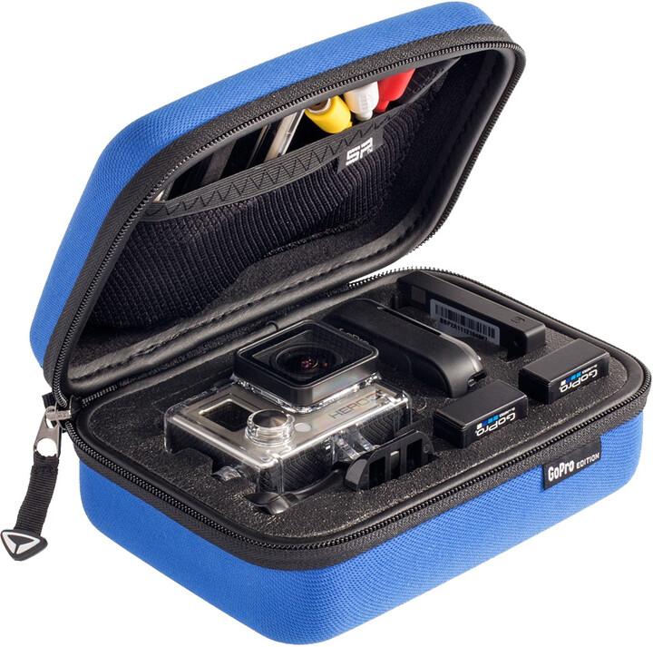 SP POV pouzdro pro GoPro-Edition 3.0, XS, modrá