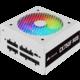 Corsair CX750F RGB - 750W, bílý