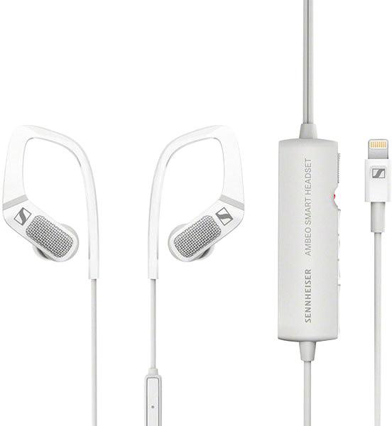 Sennheiser Ambeo Headset pro iOS, bílá