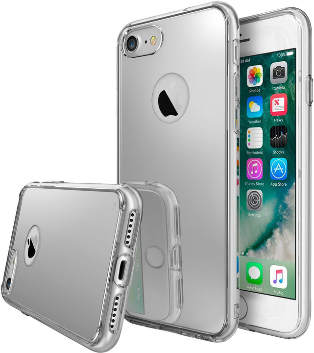 Ringke Mirror case pro iPhone 7, silver