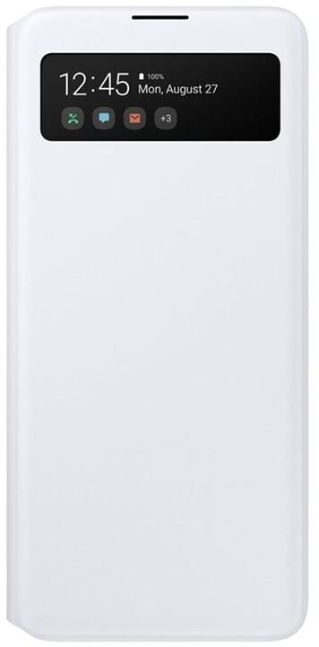 Samsung flipové pouzdro S View pro Samsung Galaxy A51, bílá