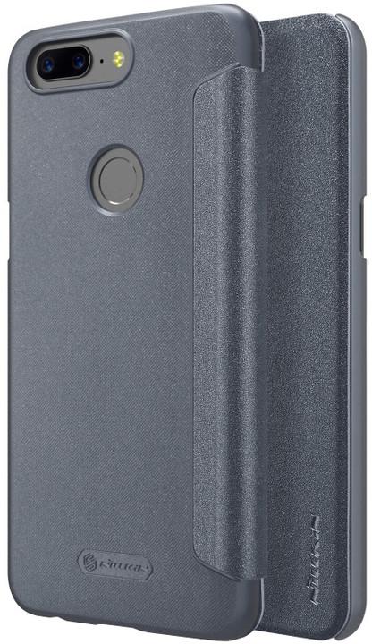 Nillkin Sparkle Folio pouzdro pro OnePlus 5T, Black