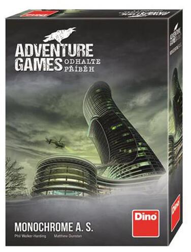 Desková hra Dino Adventure games: Monochrome a.s