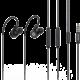 BUXTON REI-MS 300 sluchátka, černá (v ceně 399,-)