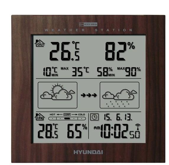 Hyundai WS 2244 W, dřevo