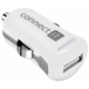CONNECT IT InCarz COLORZ auto adaptér 1xUSB 2,1A, bílá (V2)