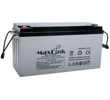 MaxLink baterie AGM 12V/150Ah, olověný akumulátor M8 - MLB-A12-150