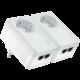 TP-LINK TL-PA4020P 500Mbps Powerline Starter Kit, 2ks  + Voucher až na 3 měsíce HBO GO jako dárek (max 1 ks na objednávku)