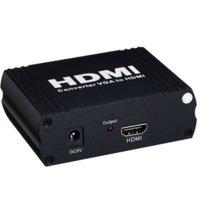 PremiumCord VGA+stereo audio elektronický konvertor na rozhraní HDMI - khcon-24