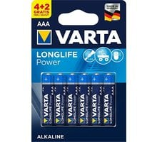 VARTA baterie Longlife Power AAA, 4+2ks - 4903121436
