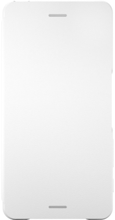 Sony SCR58 Style Cover Flip Xperia XP, bílá