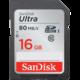 SanDisk SDHC Ultra 16GB 80MB/s UHS-I