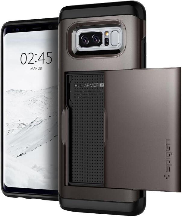 Spigen Slim Armor CS pro Galaxy Note 8, gunmetal