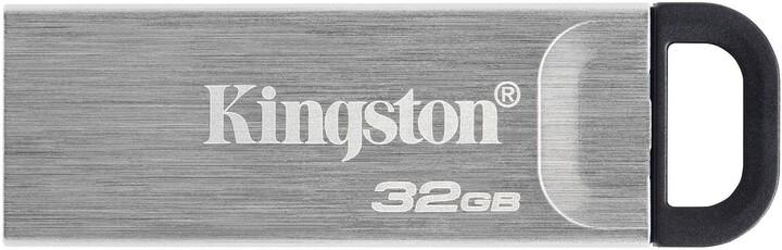 Kingston DataTraveler Kyson, - 32GB, stříbrná