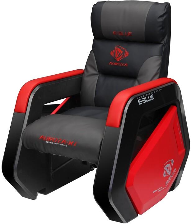 E-Blue Auroza, černé/červené