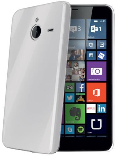CELLY Gelskin pouzdro pro Microsoft Lumia 640 XL, bezbarvé