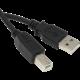 KABEL USB 2.0 kabel A-B, 2.0 m (v ceně 129 Kč)