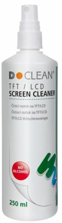 D-Clean Čisticí roztok na obrazovky, LCD, filtry (3125) 250ml