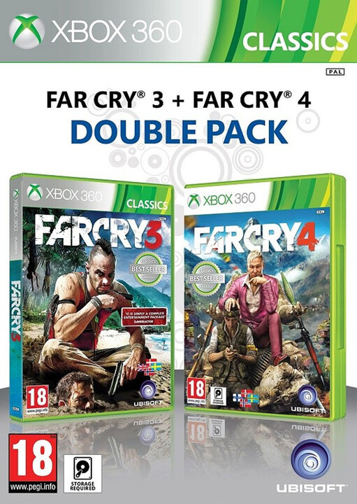 Far Cry 3 a Far Cry 4 Doublepack - X360