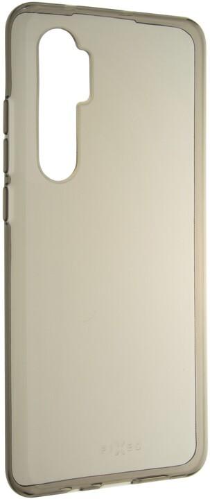 FIXED TPU gelové pouzdro Slim pro Xiaomi Mi Note 10 Lite, 0.6 mm, kouřová