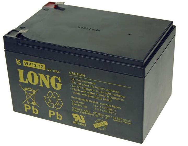 Avacom baterie Long 12V/12Ah, olověný akumulátor F2
