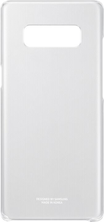 Samsung zadní kryt Clear Cover pro Note 8, čirá