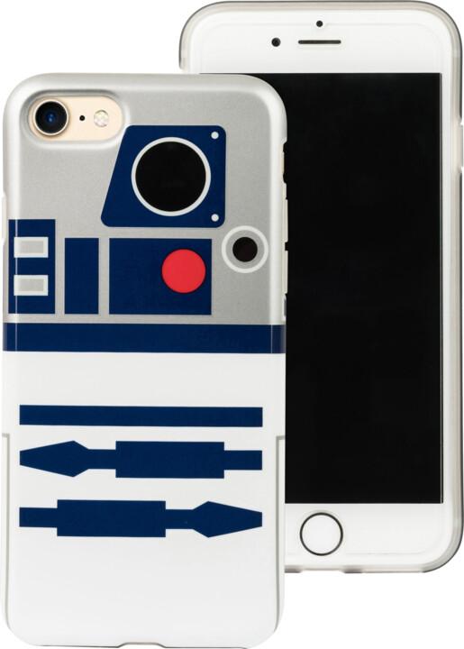 Tribe Star Wars R2D2 pouzdro pro iPhone 6/6s/7 - Bílé