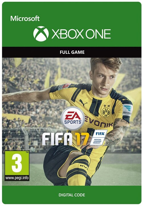 FIFA 17: Standard Edition (Xbox ONE) - elektronicky