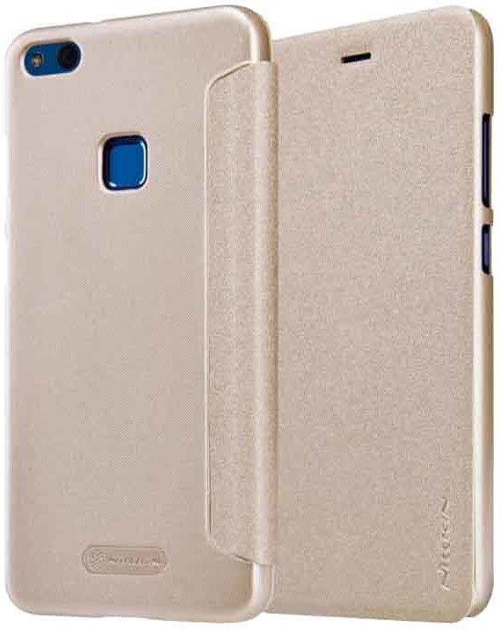 Nillkin Sparkle Folio pouzdro pro Huawei P10 Lite - zlaté