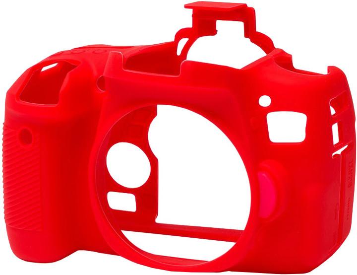 Easy Cover silikonový obal Reflex Silic pro Canon 760D, červená