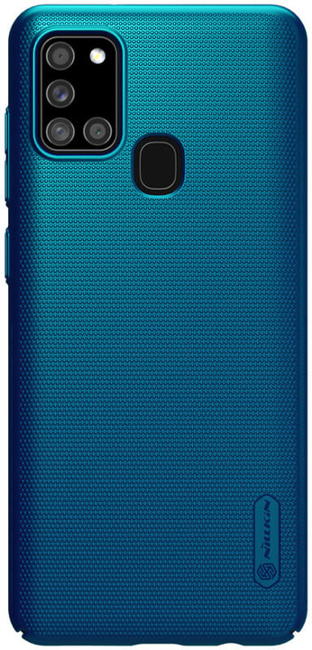 Nillkin zadní kryt Super Frosted pro Samsung Galaxy A21s, paví modrá