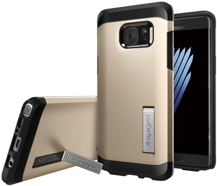 Spigen Tough Armor pro Galaxy Note 7, champagne gold