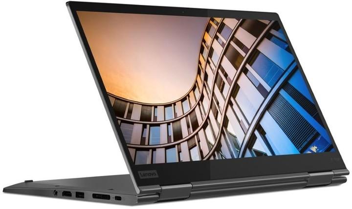 Lenovo ThinkPad X1 Yoga Gen 4, šedá + dotykové pero
