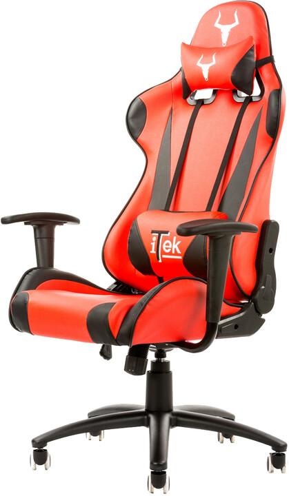 iTek TAURUS P2, černá/červená