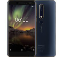 Nokia 6.1 2018, Dual Sim, 32GB, modrá