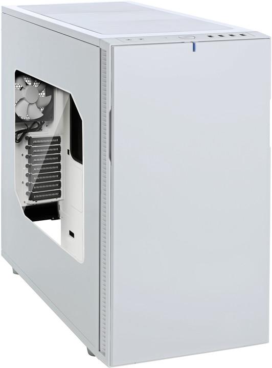 Fractal Design Define R5, okno, bílá
