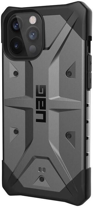 UAG ochranný kryt Pathfinder pro iPhone 12 Pro Max, stříbrná