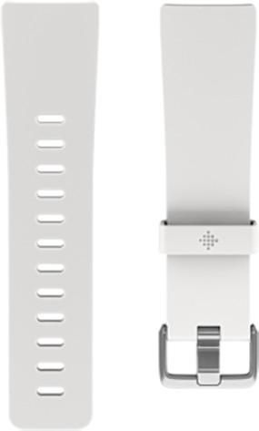 Fitbit Versa silicone band white - náhradní pásek velikost S
