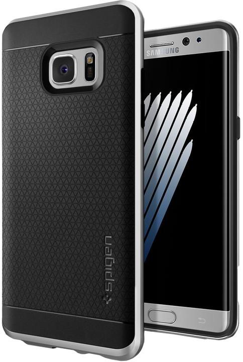 Spigen Neo Hybrid pro Galaxy Note 7, satin silver