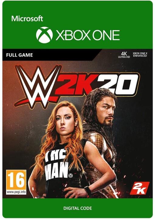 WWE 2K20 (Xbox ONE) - elektronicky