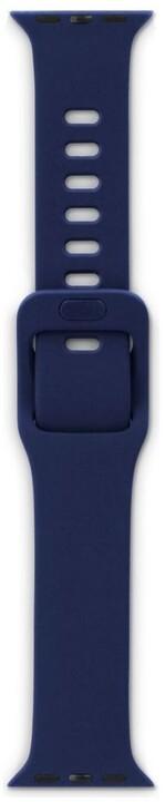 EPICO silikonový řemínek pro Apple Watch 42/44mm, modrá