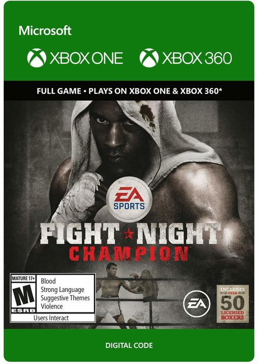 Fight Night Champion (Xbox ONE, Xbox 360) - elektronicky