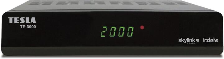 TESLA TE-3000, Irdeto Skylink, černá