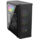 SilentiumPC Signum SG7V EVO TG ARGB, 4x120mm ARGB, TG, černá