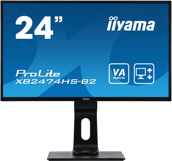 "iiyama ProLite XB2474HS-B2 - LED monitor 24"""
