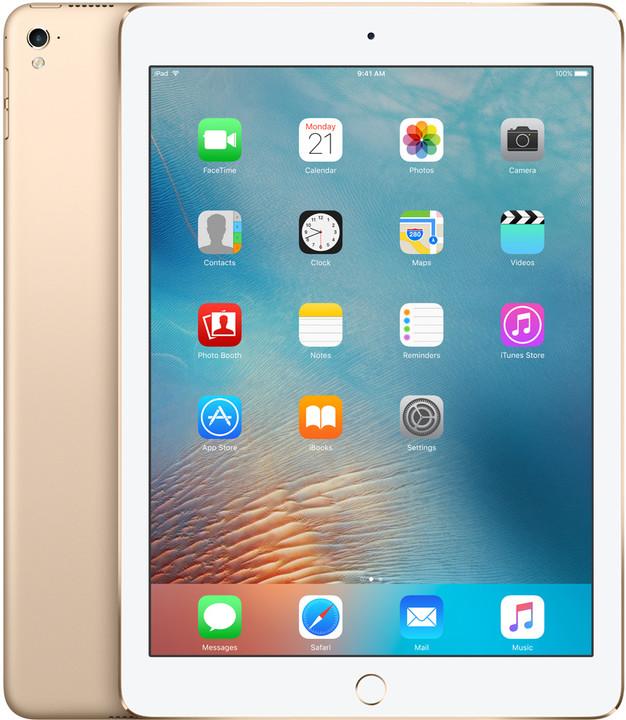 "APPLE iPad Pro, 9,7"", 128GB, Wi-Fi, zlatá"