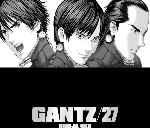 Komiks Gantz, 27.díl, manga