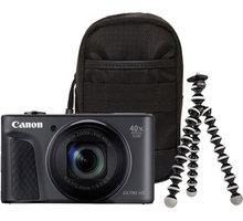 Canon PowerShot SX730 HS, černá - Travel kit 1791C016