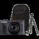 Canon PowerShot SX730 HS, černá - Travel kit  + Paměťová karta SDHC 32GB Kingston (class 10) v ceně 439 Kč